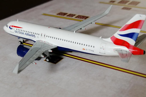 GEMINI JETS BRITISH AIRWAYS A320NEO G-TTNA  1/400
