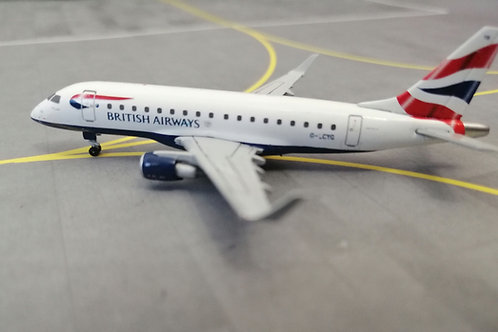 GEMINI JETS BRITISH AIRWAYS CITY FLYER EMBRAER E170 G-LCYG 1/400