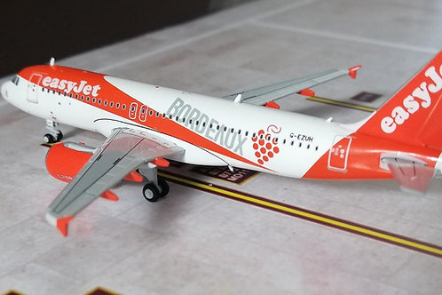 "JC WINGS EASYJET A320 G-EUZH ""BORDEAUX""  1/400"