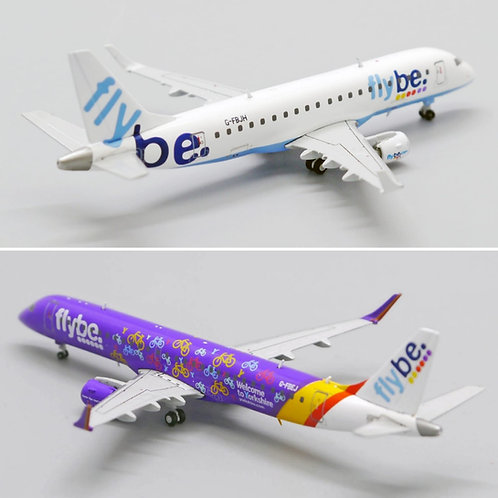 FLYBE EMBRAER TWINSET E170 /195 1/400 WINGS400 EXCLUSIVE