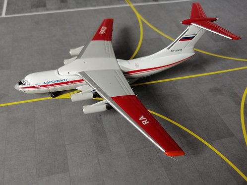 WITTY WINGS AEROFLOT ILYUSHIN  IL-76 RA-76478 1/400