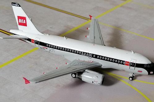 "GEMINI JETS BRITISH AIRWAYS ""BEA"" A319 G-EUPJ  1/400"