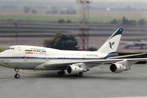 """NG MODELS IRAN AIR B747SP EP-IAB """"KHORASAN"""" 1/400"""