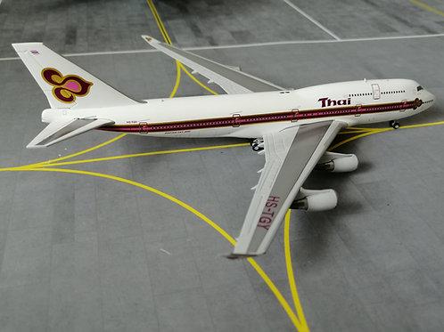 JC WINGS THAI AIRWAYS BOEING B747-400 HY-TGY 1/4