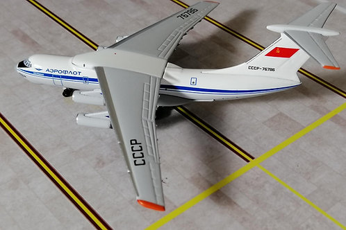 AEROCLASSICS AEROFLOT IL-76 CCCP-76786  1/400