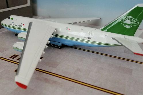 HERPA WINGS LIBYAN AIR CARGO AN-124 5A-DKL  1/400