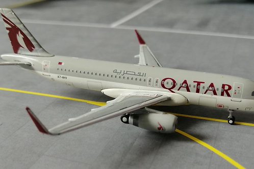 JC WINGS QATAR AIRWAYS A320 A7-AHV 1/400