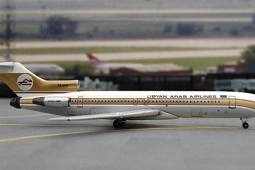 AEROCLASSICS LIBYAN ARAB AIRLINES B727-200 5A-DIA 1/400