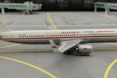 """WINGLUX MODELS TAP PORTUGAL """"RETRO"""" A321NEO CS-TJR 1/400"""