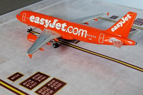 """JC WINGS EASYJET A320 G-EUZI """"ORANGE""""  1/400"""