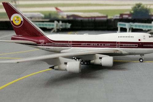 NG MODELS QATAR AMIRI FLIGHT B747SP VP-BAT  1/400