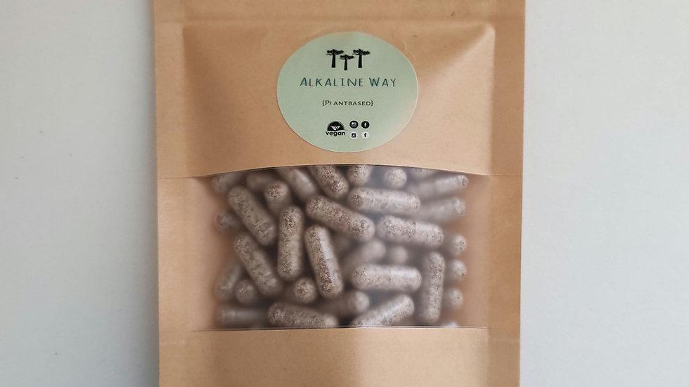 Organic Milk Thistle Seed (Silybum marianum) Capsules