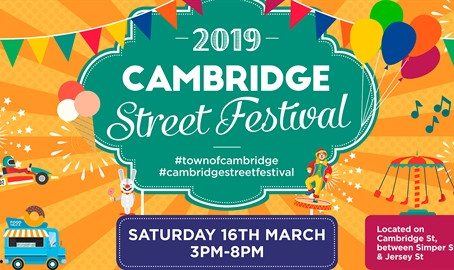 Swingtopia at Cambridge St Festival! (Mar 16)