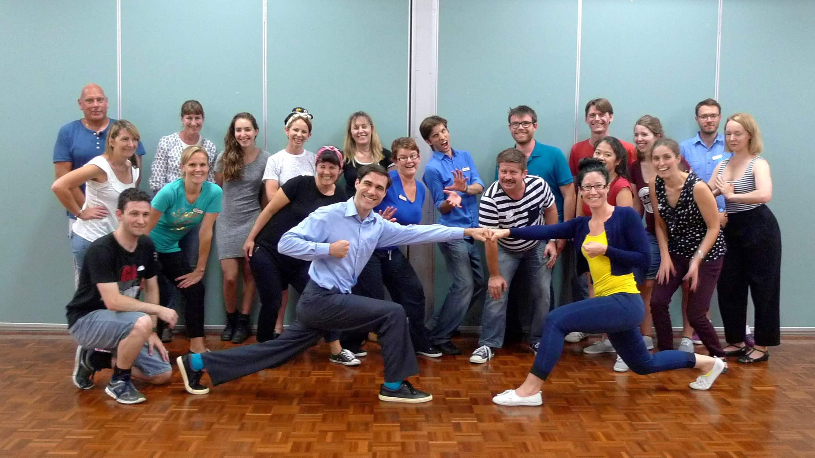 Swingtopia Swing dance Perth Azza Lauren