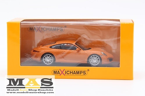 Porsche 911 Carrera S 2012 orange Minichamps 1/43