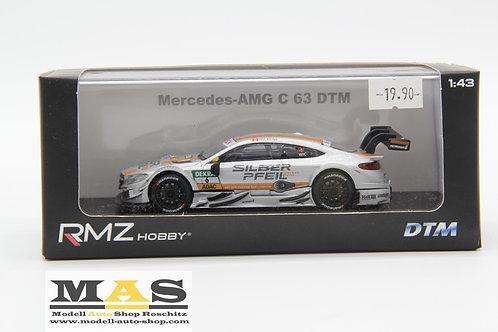 Mercedes AMG C 63 No.6, DTM 2016 R. Wickens RMZ 1/43