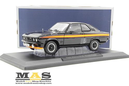 Opel Manta GT/E Black Magic 1975 schwarz Norev 1/18