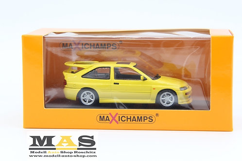 Ford Escort Cosworth gelb 1992 Minichamps 1/43