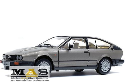 Alfa Romeo GTV6 1984 silber Solido 1/18