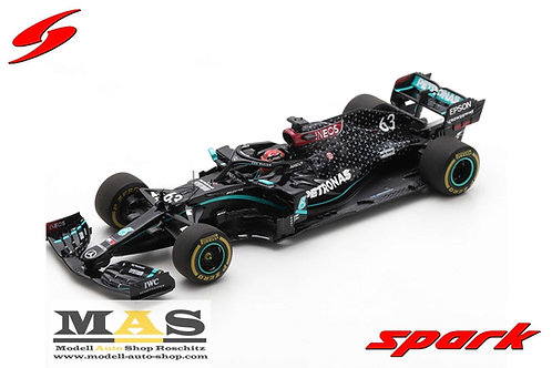 Mercedes AMG W11 G. Russell Sakhir (Bahrain) GP 2020 Spark 1/43