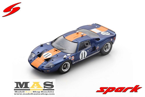 Ford GT40 24h LeMans 1967 J. Ickx, D. Thompson Spark 1/43