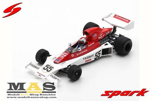 Parnelli VPJ4 M. Andretti Canadian GP 1974 Spark 1/43