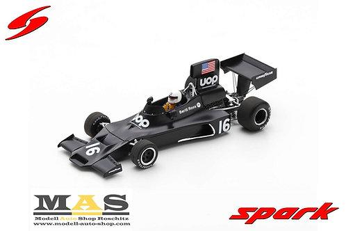 Shadow DN3 Schweden GP 1974 B. Roos Spark 1/43
