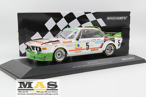 BMW 3.0 CSL No. 5 winner 24h Spa 1976 Chavan, Detrin, Demuth Minichamps 1/18