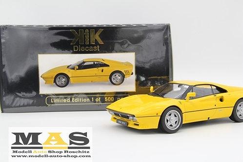 Ferrari 288 GTO 1984 gelb KK-Scale 1/18