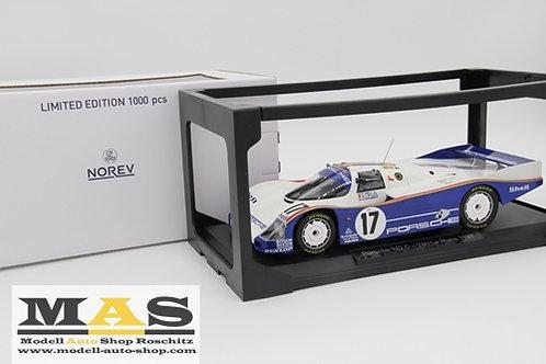Porsche 962c 24h Le Mans 1987 Bell Stuck Holbert Norev 1/18