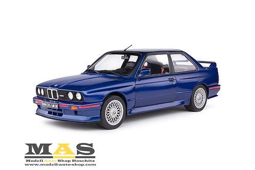 BMW M3 E30 Coupe 1990 blau Solido 1/18