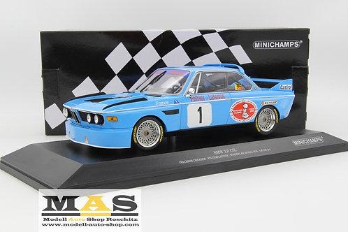 BMW 3.0 CSL No. 1 winner 4h Monza 1974 Peltier, Lafosse Minichamps 1/18