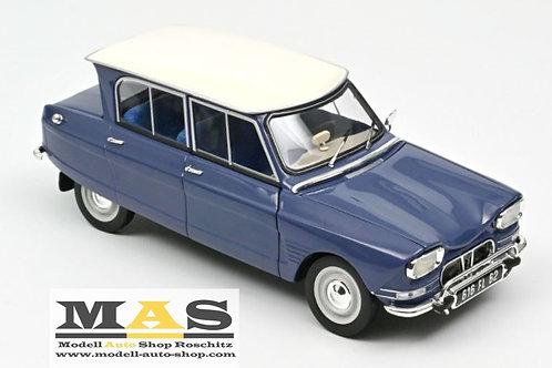 Citroën Ami 6 1965 Ardoise Blue Norev 1/18