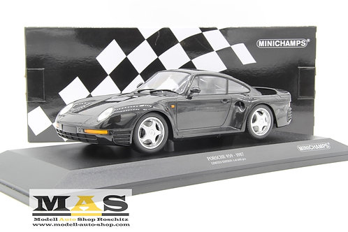 Porsche 959 1987 grau metallic Minichamps 1/18