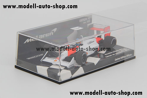 McLaren MP4/4 F. Alonso Circuit de Catalunya 2015 Minichamps 1/43