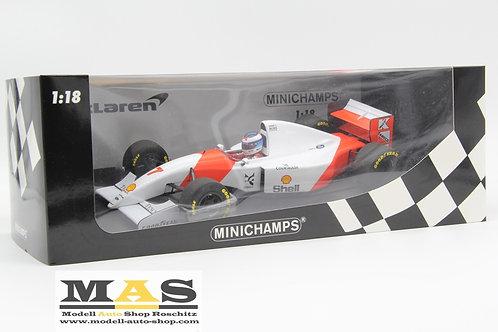 McLaren Ford MP4/8 M. Hakkinen Japan GP 1993 Minichamps 1/18