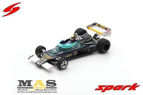 Ensign N177 D. Daly Niederlande GP 1978 Spark 1/43