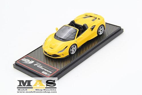 Ferrari F8 Tribute Spider Giallo Modena gelb BBR 1/43