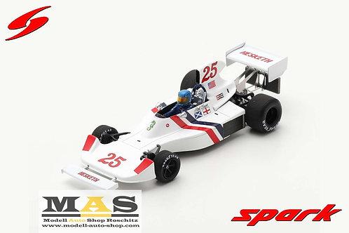 Hesketh 308 No.25 B. Lunger US GP 1975 Spark 1/43
