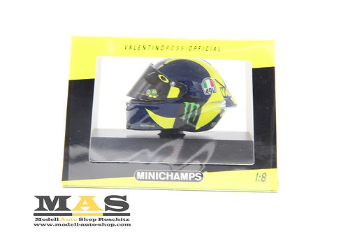 Valentino Rossi AGV Helm Moto GP 2018 Minichamps 1/8