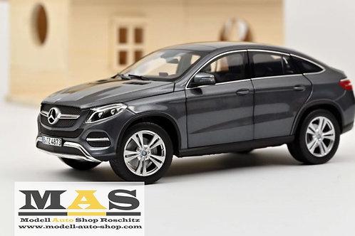 Mercedes Benz GLE Coupe 2015 grau Norev 1/18