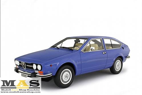 Alfa Romeo Alfetta GTV 2000 1976 blue laudoracing 1/18