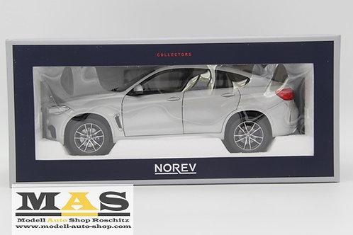 BMW X6 M 2015 silver Norev 1/18