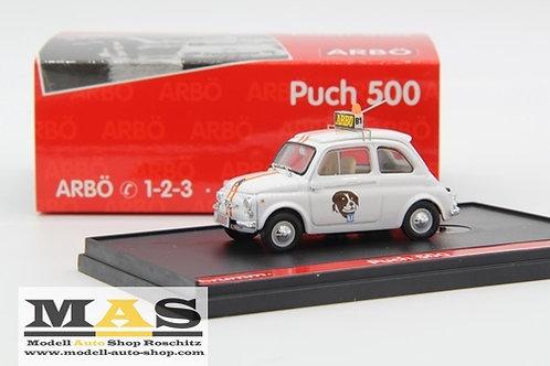 Steyr Puch 500 ARBÖ Brumm 1/43