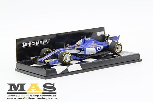 Sauber C36 M. Ericsson China GP 2017 Minichamps 1/43
