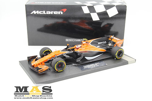 McLaren MCL32 S. Vandoorne Chinese GP 2017 Minichamps 1/18