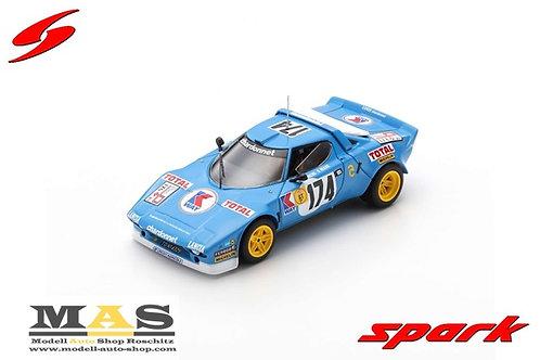 Lancia Stratos HF Winner Tour de France 1977 Darniche Mahe Spark 1/43