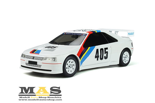 Peugeot 405 T16 Gr. S #405 Presentation Car 1988 weiß Otto Mobile 1/18