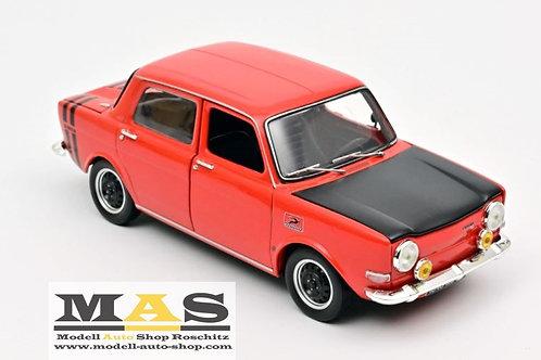 Simca 1000 Rallye 1 1971 rot Norev 1/18