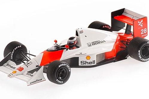 McLaren Ford MP4/5b G. Berger 2nd Place Brazilian GP 1990 Minichamps 1/43